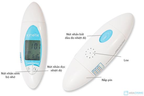 Máy đo nhiệt độ qua tai Kinetik Medical - Xuất xứ Anh - 8