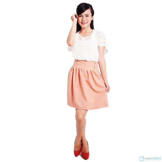 Chân váy xòe nhiều màu xinh xắn - 7