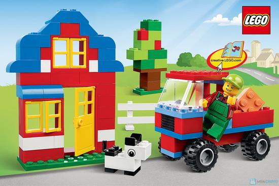 Hộp đồ chơi lego 4626 - My Kingdom - 6
