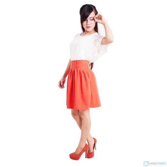 Chân váy xòe nhiều màu xinh xắn - 2