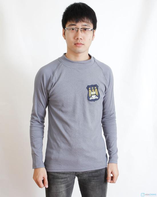 Combo 2 áo phông nỉ cho nam - 3