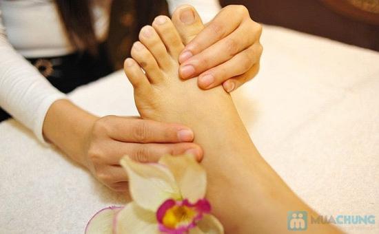 Massage toàn thân bằng gừng tươi kết hợp đá nóng - 4