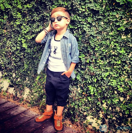 áo bò hàng xuất khẩu cho bé trai ( Size 1 đến 4 tuổi ) - 3