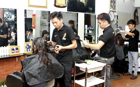 Làm tóc tại Salon Đẹp + - 3
