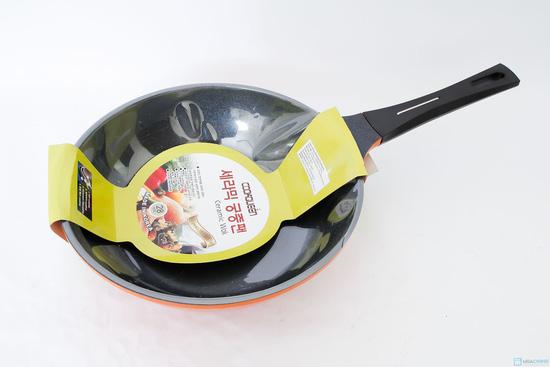 Chảo gốm sâu lòng đk 28cm Cookqueen - 1