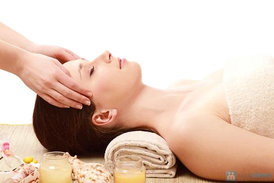 Massage toàn thân bằng gừng tươi kết hợp đá nóng - 5