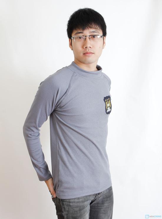 Combo 2 áo phông nỉ cho nam - 4