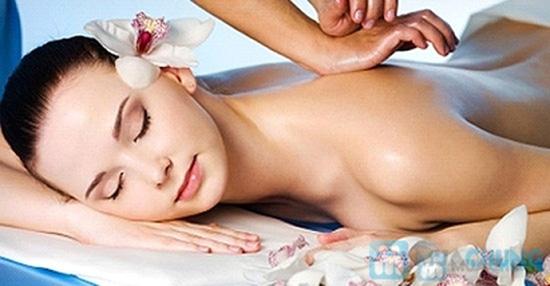 Massage toàn thân bằng gừng tươi kết hợp đá nóng - 2