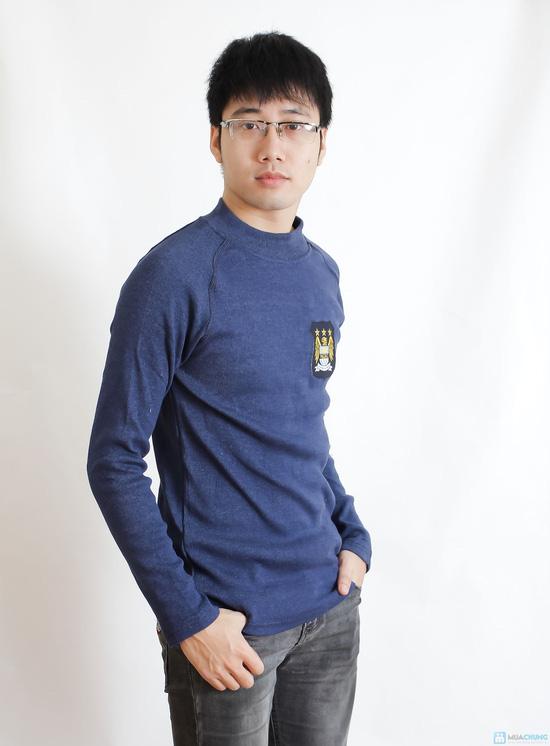 Combo 2 áo phông nỉ cho nam - 9