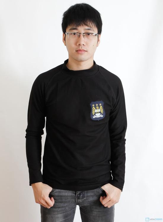 Combo 2 áo phông nỉ cho nam - 5