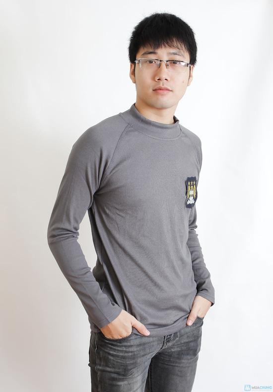 Combo 2 áo phông nỉ cho nam - 1