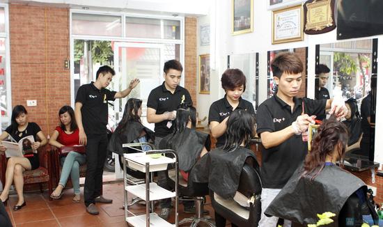 Làm tóc tại Salon Đẹp + - 13