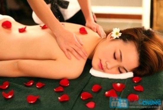 Massage toàn thân bằng gừng tươi kết hợp đá nóng - 1