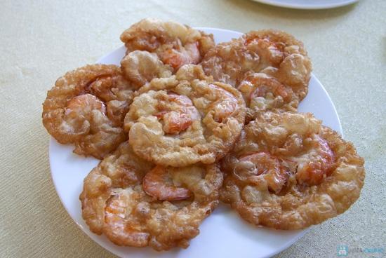 Combo bánh tôm Hồ Tây + Tôm cuốn chiên giòn + 2 phần nước trái cây - 2