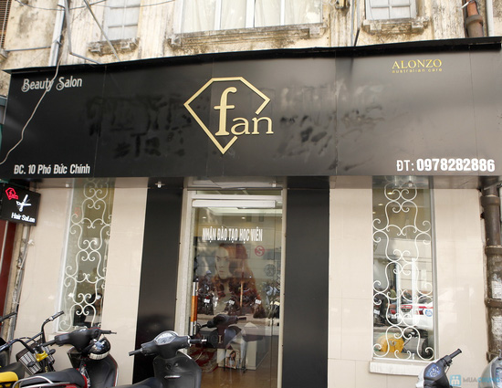 Lựa chọn gói dịch vụ: Uốn, Nhuộm, Ép tại Fan salon - 2