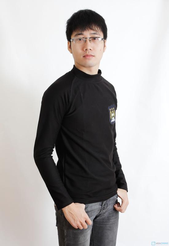 Combo 2 áo phông nỉ cho nam - 6