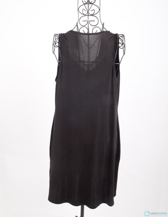Đầm ngủ lụa dẻo trung niên - 2