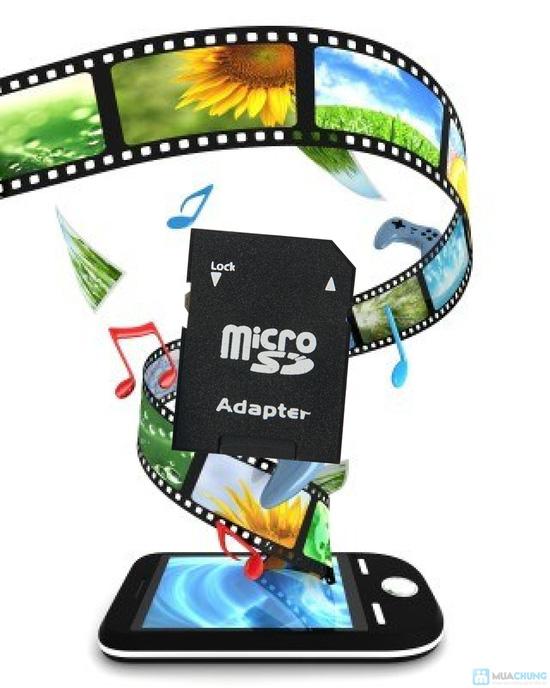 Thẻ nhớ 8GB + Đầu đọc thẻ + Adapter đọc thẻ - 8