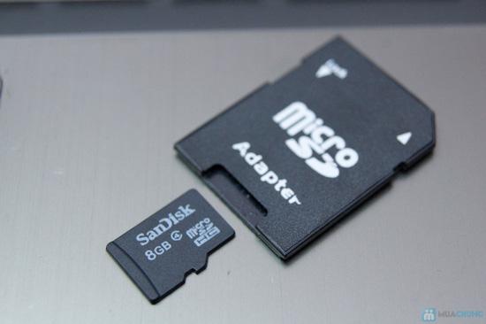 Thẻ nhớ 8GB + Đầu đọc thẻ + Adapter đọc thẻ - 9