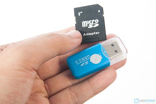 Thẻ nhớ 8GB + Đầu đọc thẻ + Adapter đọc thẻ - 4