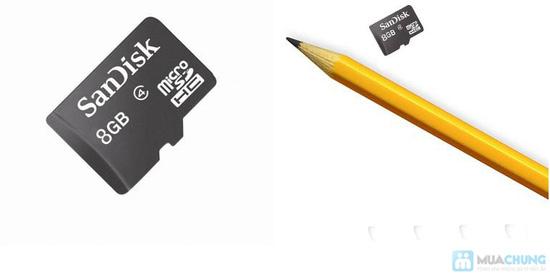 Thẻ nhớ 8GB + Đầu đọc thẻ + Adapter đọc thẻ - 13