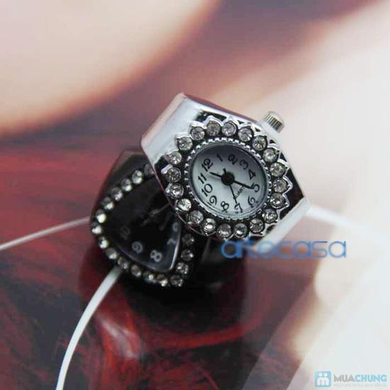 Phụ kiện đẹp độc đáo cho bạn: Nhẫn đồng hồ - 4