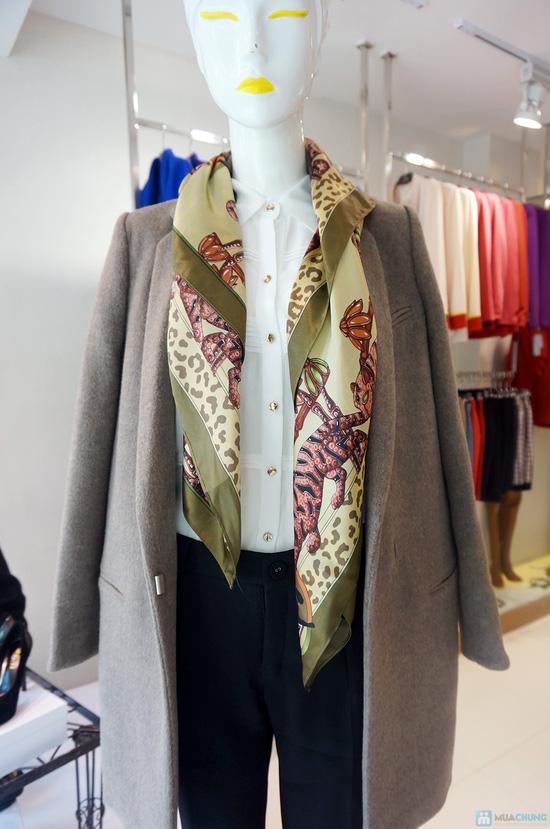 Khăn quàng thời trang Elise quý phái - 4