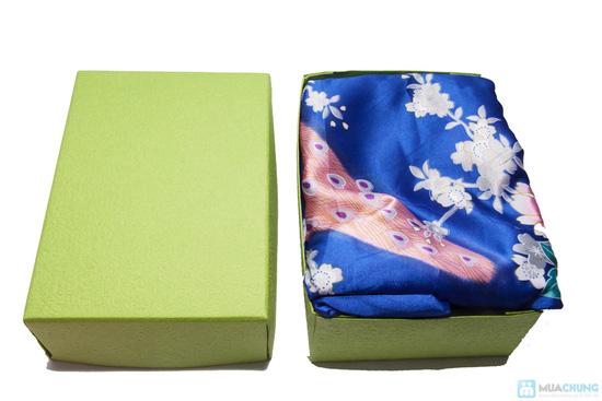 Combo Vải may áo dài + hộp quà - 4