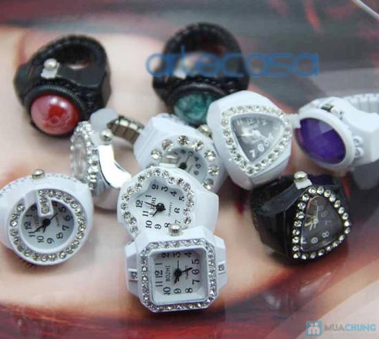Phụ kiện đẹp độc đáo cho bạn: Nhẫn đồng hồ - 8