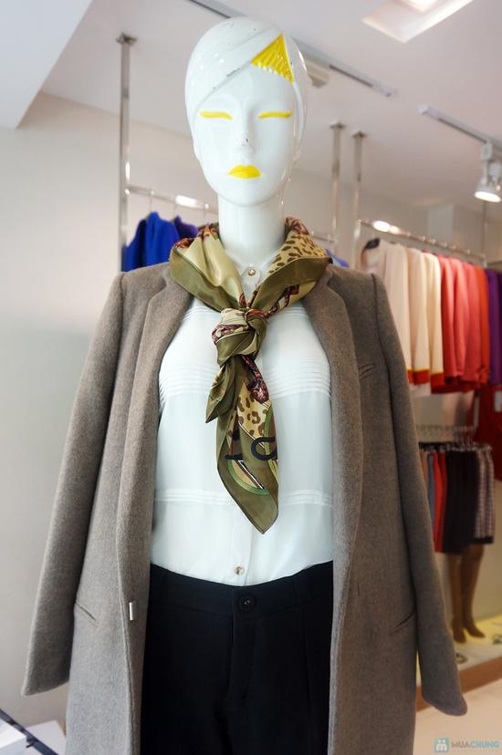 Khăn quàng thời trang Elise quý phái - 5