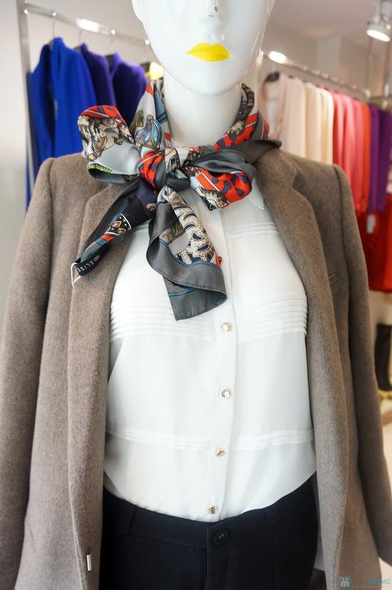 Khăn quàng thời trang Elise quý phái - 2