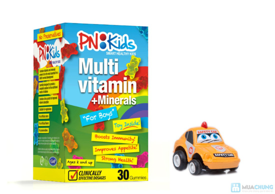 Kẹo dẻo PN:Kids For Boys - Multivitamin & Minerals - 1