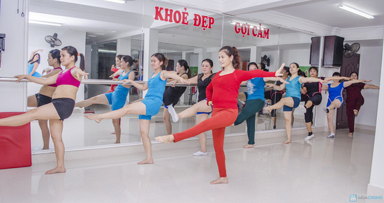 Lựa chọn Khóa học thẩm mỹ hoặc Yoga tại trung tâm của HLV Đinh Hồng Sơn - Chỉ với 200.000đ - 5