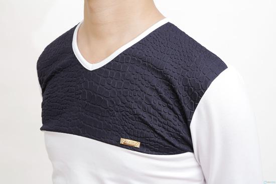 combo 2 áo cotton cho nam - 4