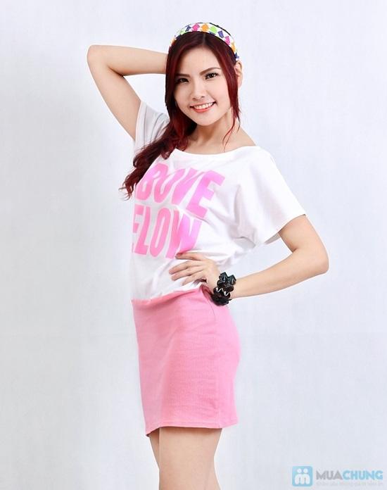 Đầm color xinh xắn - 1