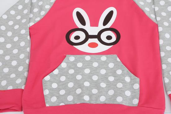 Bộ đồ hình thỏ màu sắc và ngộ nghĩnh cho bé - 1