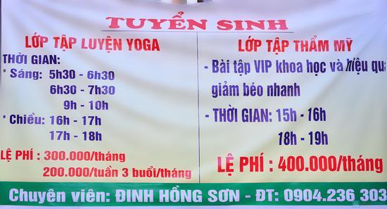 Lựa chọn Khóa học thẩm mỹ hoặc Yoga tại trung tâm của HLV Đinh Hồng Sơn - Chỉ với 200.000đ - 12