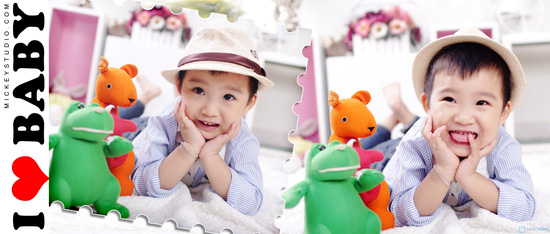 Tặng bé yêu những bức ảnh đẹp nhất với Gói chụp ảnh cho bé tại Mickey Studio - 1