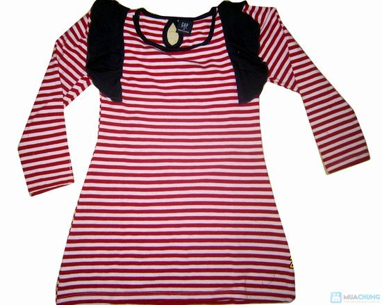 Combo 2 váy kẻ ngang xinh xắn cho bé gái - 1