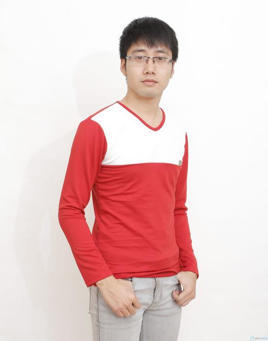 combo 2 áo cotton cho nam - 9