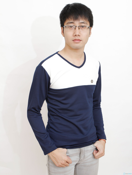 combo 2 áo cotton cho nam - 11