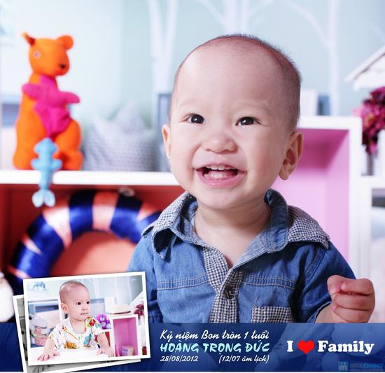Tặng bé yêu những bức ảnh đẹp nhất với Gói chụp ảnh cho bé tại Mickey Studio - 8