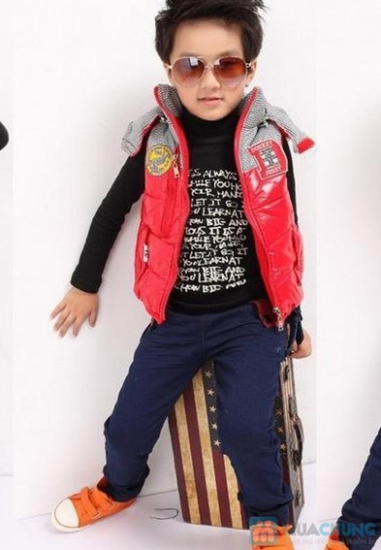 Gile phao có mũ cho bé  xuất Hàn Quốc - 8