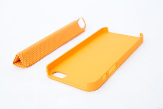 Bộ Flip Cover Iphone 5 (ốp lưng + đỡ lưng) - 2