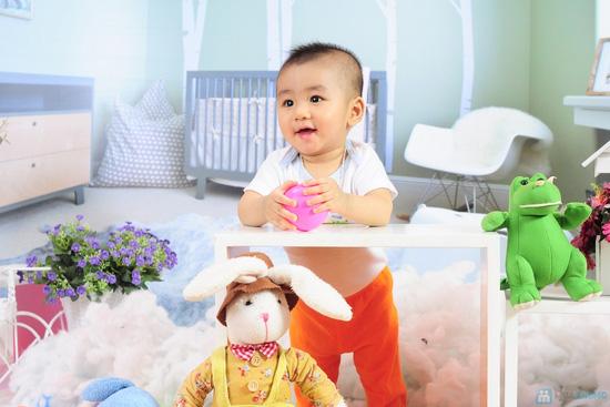 Tặng bé yêu những bức ảnh đẹp nhất với Gói chụp ảnh cho bé tại Mickey Studio - 4