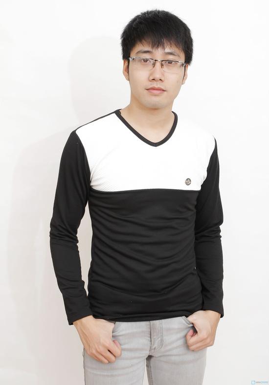 combo 2 áo cotton cho nam - 5