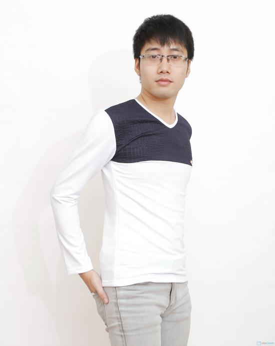 combo 2 áo cotton cho nam - 2