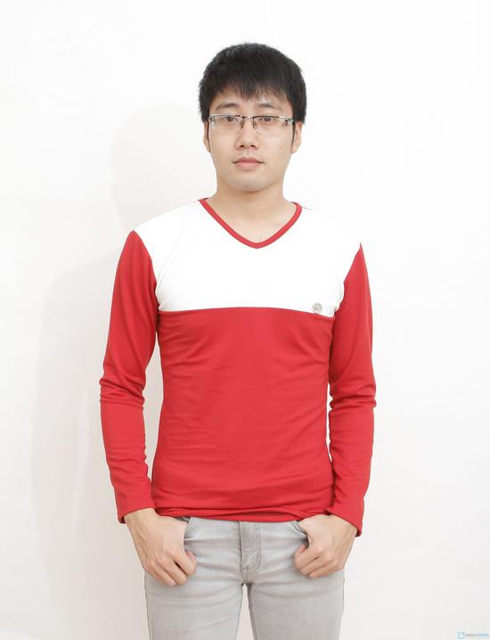 combo 2 áo cotton cho nam - 8