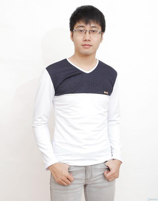 combo 2 áo cotton cho nam - 1