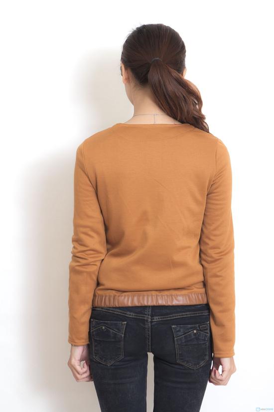 Áo khoác da thời trang cho nữ - 3
